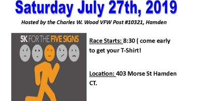 5K For The FIVE  SIGNS