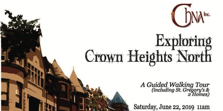 Exploring Crown Heights North: A Guided Walking Tour tickets