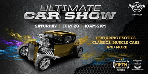 Ultimate Car Show 2019 Pre-Registration