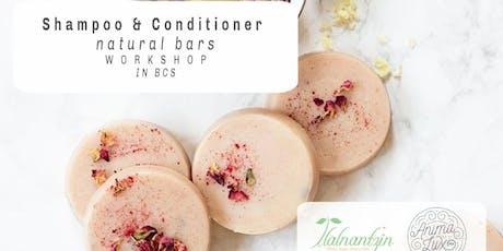 Shampoo & Conditioner Natural Bars Workshop tickets