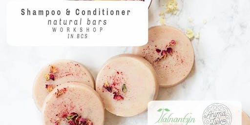Shampoo & Conditioner Natural Bars Workshop