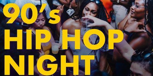 #REVNOLA - 90'S HIP HOP NIGHT ($100 MÖET SPECIAL )