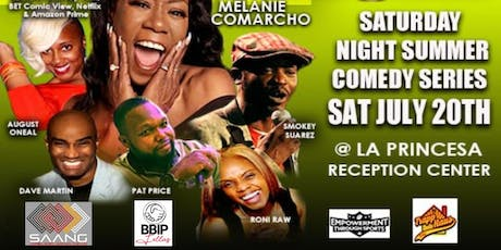 Saturday Night Summer Comedy Series tickets