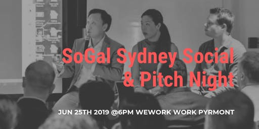 SoGal Sydney Networking & Pitch Night