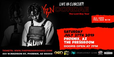 YBN CORDAE: THE LOST BOY TOUR @ The Pressroom