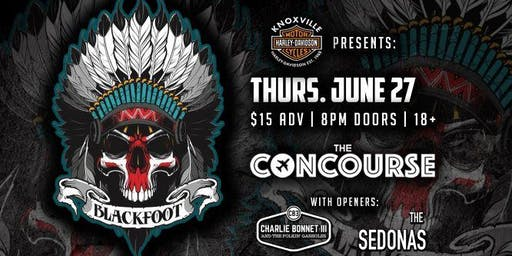 Blackfoot at The Concourse
