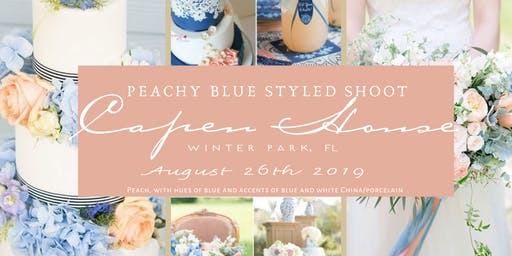 Peachy Blue Styled Shoot