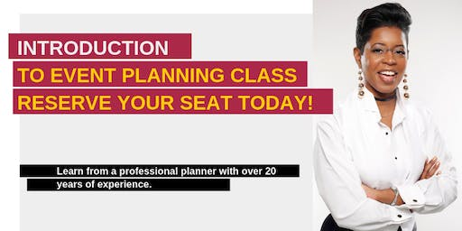 Introduction to Event Planning - Session #2