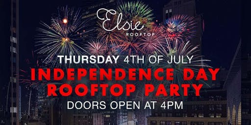 July 4th Day Celebration Elsie Rooftop