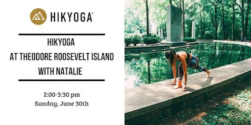 Hikyoga® at Roosevelt Island with Natalie