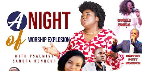 A NIGHT OF WORSHIP EXPLOSION  tickets