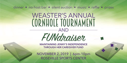 Weaster's Annual Cornhole Tournament, Dinner & Silent Auction!