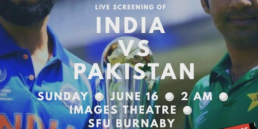 Live Screening: India vs Pakistan (World Cup)