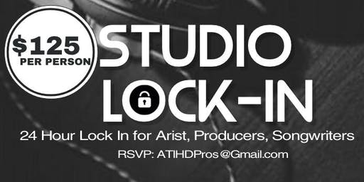 LOCK IN! 24 Hour Overnight Studio Session (Atlanta HD Studios)!