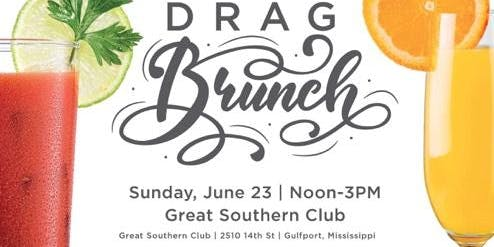 Drag Brunch Great Southern Club