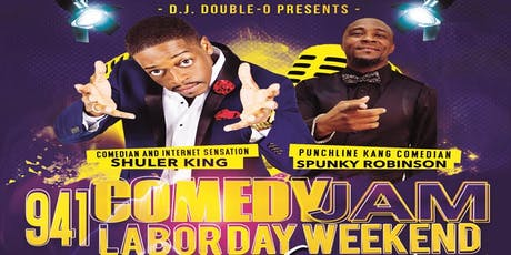 941 Comedy Jam Labor Day Weekend Comedy Experience tickets