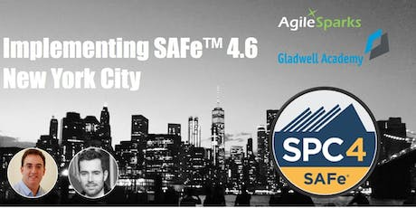 Implementing SAFe 4.6 w/ SPC Certification - New York City, September 2019 - Guaranteed to Run tickets
