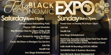 3RD ANNUAL BLACK ECONOMIC EXPO  tickets
