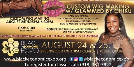 Wig Making Class by Glam Chiku  tickets