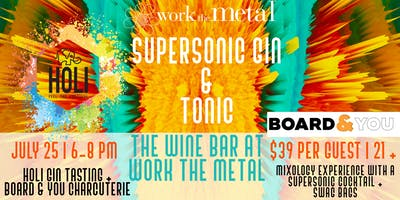 Supersonic Gin & Tonic Event