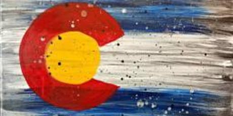 Paint Wine Denver Rustic Colorado Fri Aug 2nd 6:30pm $35 tickets