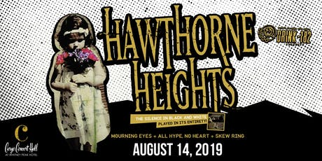 Drink182 Presents: Hawthorne Heights at Cargo Concert Hall tickets