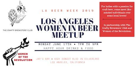 Los Angeles Women in Beer Mixer - LA Beer Week tickets