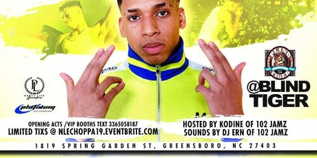 JUNE 25TH | NLE LIVE ON A TUESDAY @ BLIND TIGER 1819 SPRING GARDEN ST | tickets