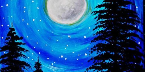 Paint Wine Denver Celestial Shower Fri Aug 23rd 6:30pm $35