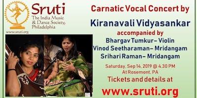 Kiranavali Vidyasankar - A Grand Carnatic Music Concert