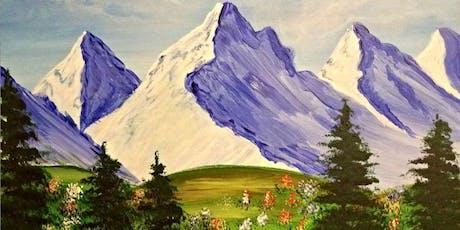Paint Wine Denver Mountain Splendor Fri Aug 30th 6:30pm $35 tickets