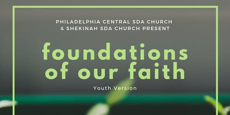 foundations of our FAITH! tickets