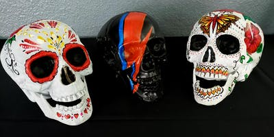 "Paint a ""Skull"" - Come in Costume! Halloween"