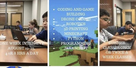Coding and Robotics Summer Immersion tickets