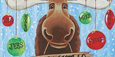 CHRISTMAS IN JULY - Christmas Moose