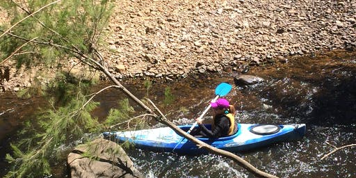 Women's Easy Rapids Kayaking // Sunday 1st December