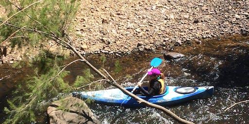 Women's Easy Rapids Kayaking // Sunday 1st December
