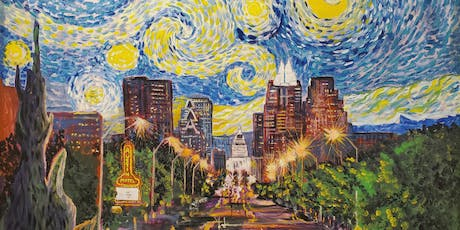 Starry Night over Austin a Van Gogh Inspired Event tickets