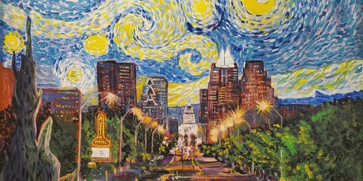 Starry Night over Austin a Van Gogh Inspired Event