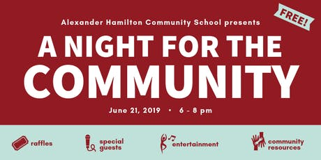 A Night for the Community tickets