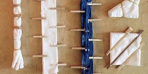 LHS: Natural Dyes & Shibori Technique