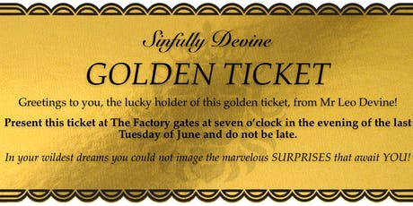 A Night at the Factory tickets