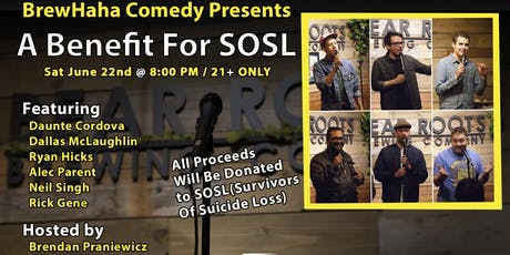 BrewHaha Comedy Presents A Benefit for SOSL tickets