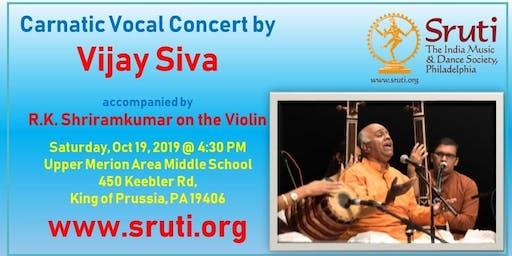 Vijay Siva - A Grand Carnatic Music Concert