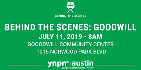 Behind the Scenes: Goodwill tickets