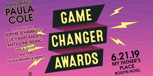 Girls Rising Game Changer Awards