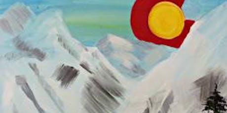 Paint Wine Denver Colorado Rising Sat Aug 24th 3pm $35 tickets