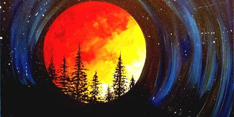 Paint Wine Denver Supermoon Sat July 27th 7pm $40 tickets