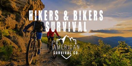 Hikers, Bikers & Backpackers Survival - AR tickets