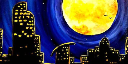 Paint Wine Denver Moonlit Denver Sat Aug 17th 7pm $40